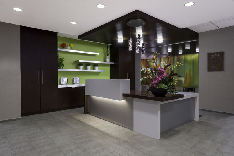 Innovest Reception Area Denver Colorado