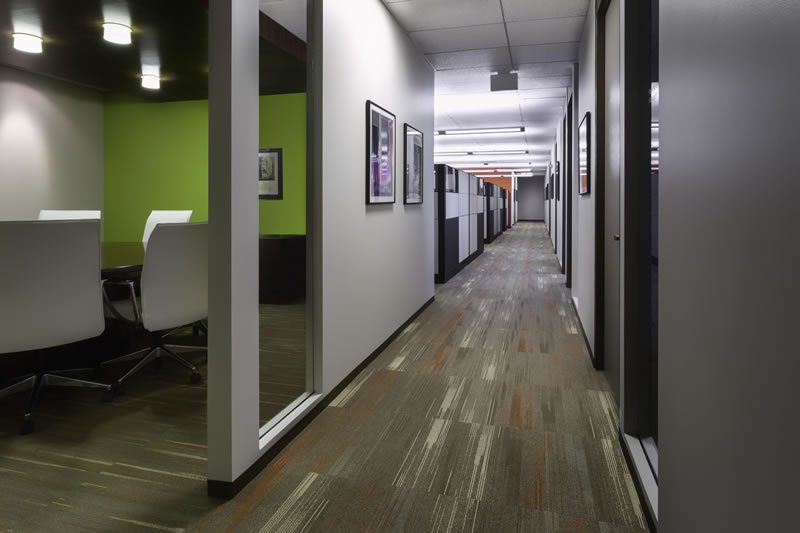 Innovest Workspace and Office Hallway Denver Colorado