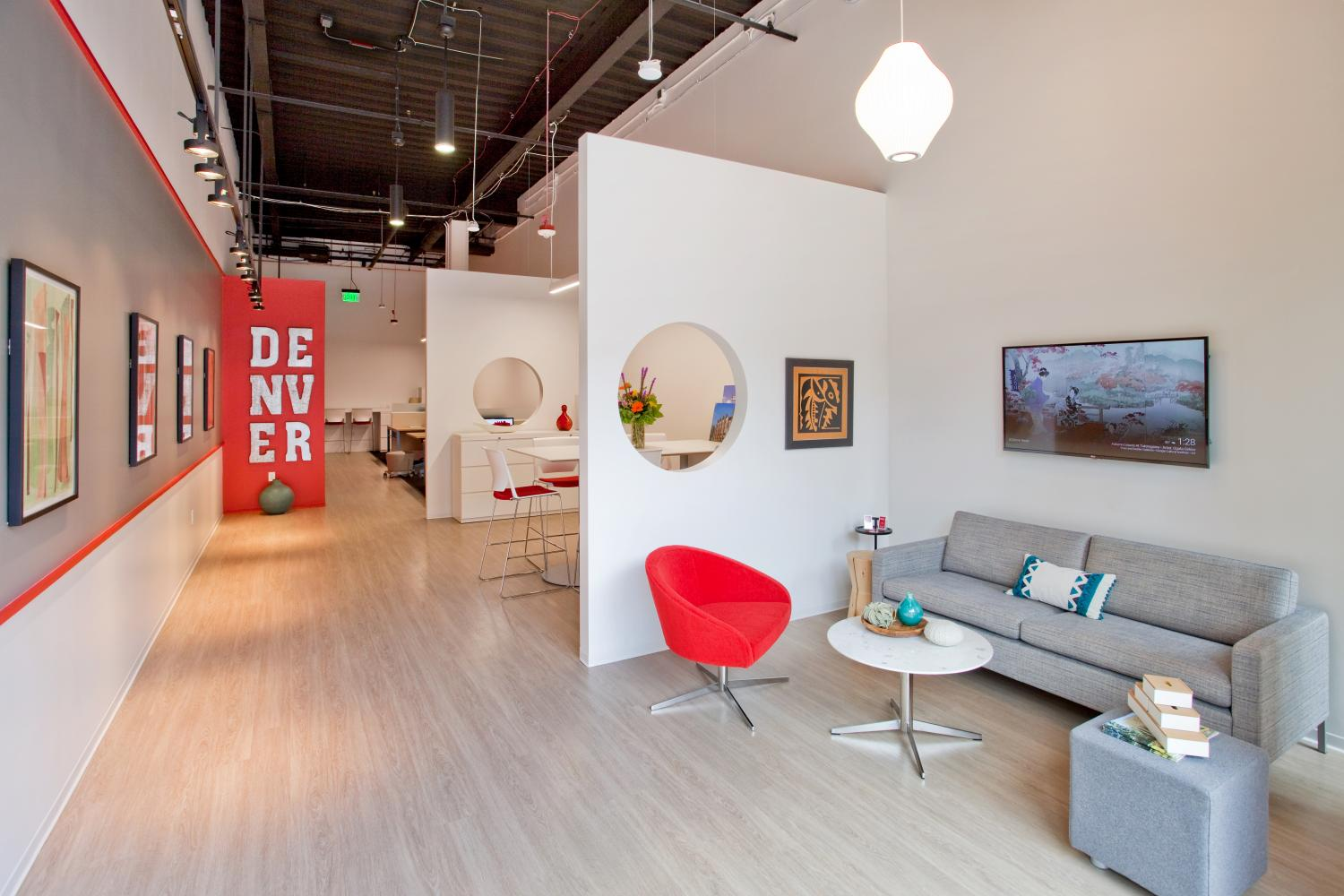 Kentwood Real Estate Decorated Collaboration Area Commercial Construction Denver Colorado