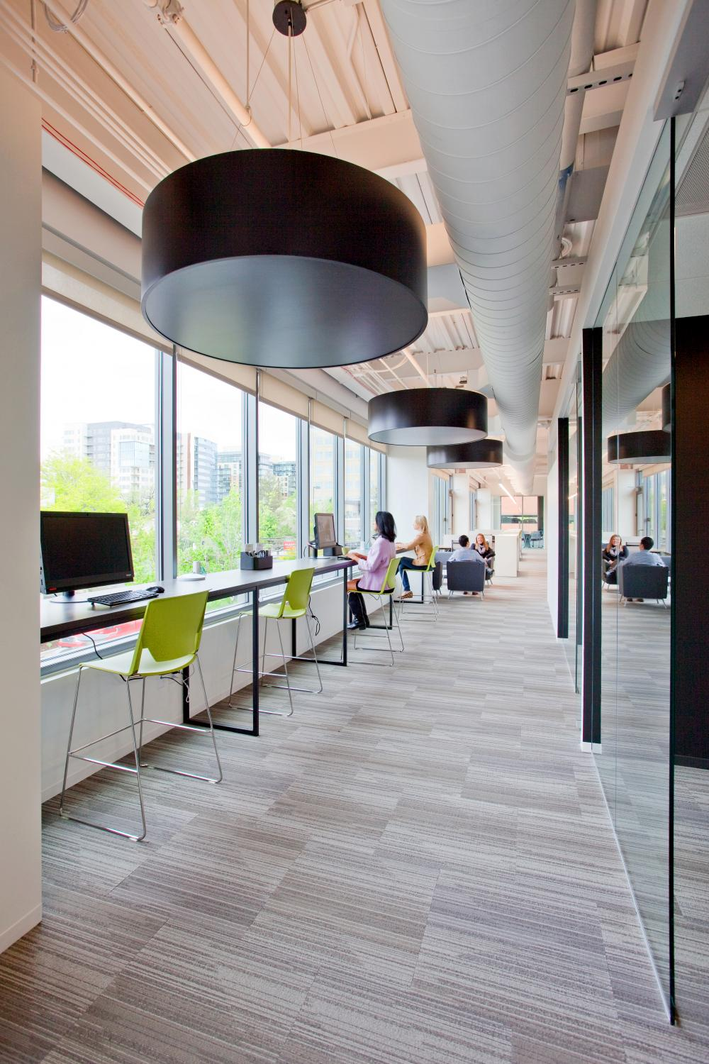 Kentwood Real Estate Collaboration Area By Windows Commercial Construction Denver Colorado