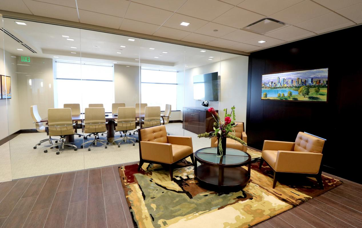 The Siegfried Group Reception and Conference Room Denver Colorado