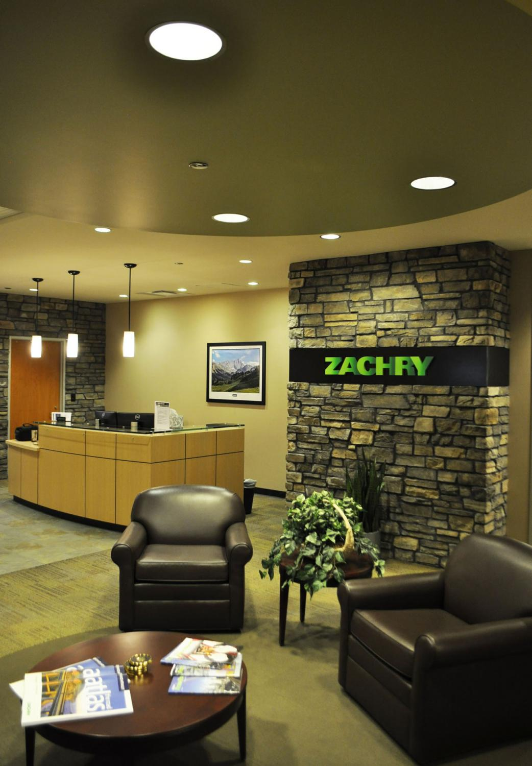 Zachry Engineering Lobby and Seating Area Denver Colorado