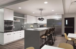 Caerus Oil and Gas Kitchen Commercial Construction Denver Colorado