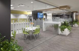 Newalta Break Room Commercial Construction Denver Colorado