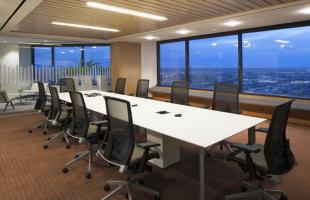 Newalta Conference Room Commercial Construction Denver Colorado