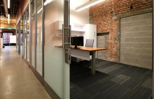 Summit Materials Hallways with Offices Denver Colorado