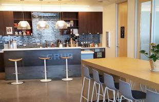 VMware Kitchen and Collaboration Area Broomfield Colorado
