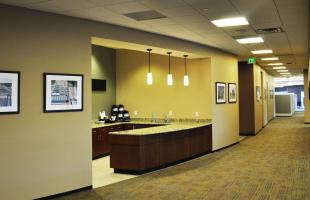 Zachry Engineering Hallway and Wet Bar Denver Colorado