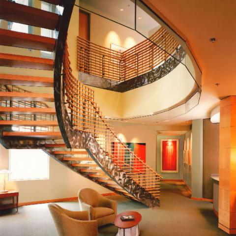 Hutchinson Black and Cook Stairway Commercial Construction Boulder Colorado