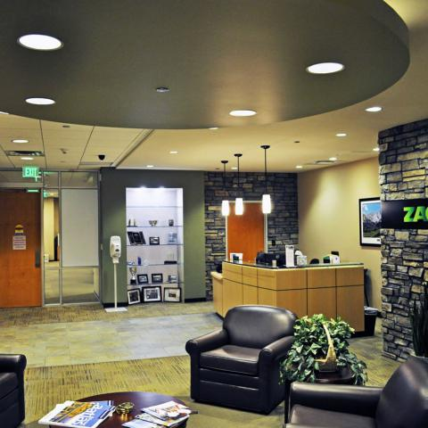 Zachry Engineering Lobby Denver Colorado